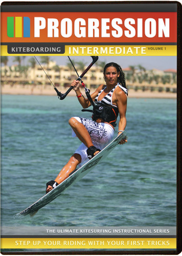Progression Intermediate Kiteboarding DVD Vol 1