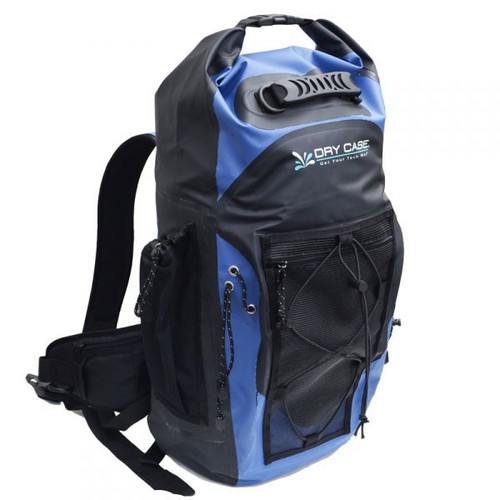 DryCASE Blue Waterproof Backpack