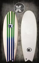 Pin Stripe Soft Top Fish Surfboard