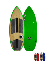 Nitro V2 Wakesurf Board by Triple X Green Color