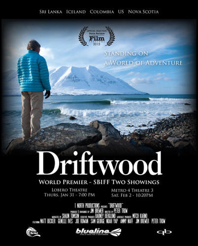 Driftwood Standing On A World Of Adventure SUP Movie