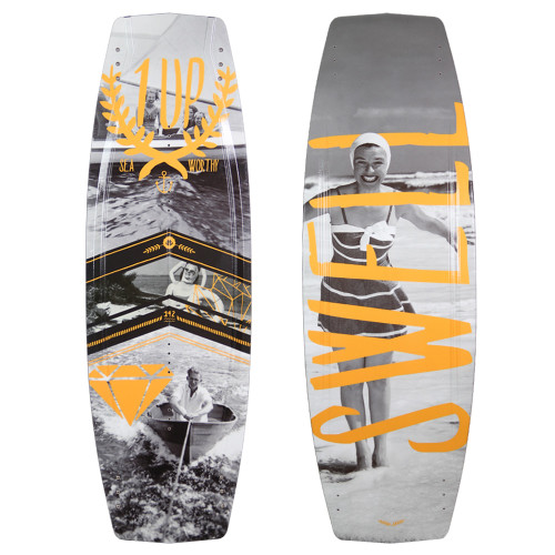 The 1UP Wakeboard by Humanoid Wakeboards