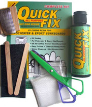 Surfco Quick Fix Complete Ding Kit 2.5oz
