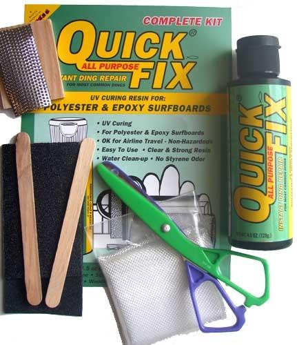 Surfco Quick Fix Complete Ding Kit 4.5oz