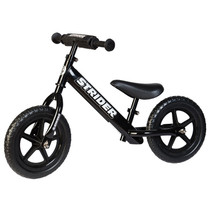 Strider 12 Sport Balance Bike Black