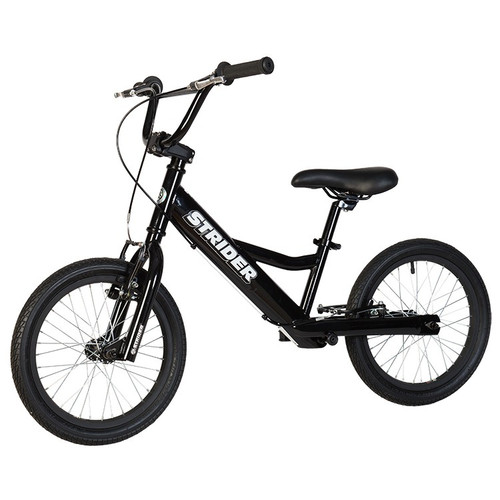 16 Sport Balance Bike Black