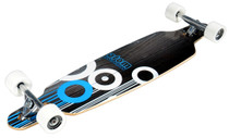 "Atom 36"" Drop-Through Longboard - Blue Bottom"