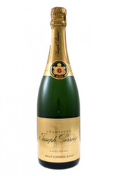 Made up of equal parts of Chardonnay and Pinot Noir from an exceptional year. This cuvée ages for a minimum of five years prior to release. Supple and graceful, giving a floral bouquet with a full, rich style.