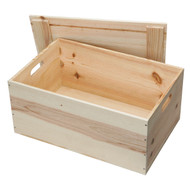 Designed to either fit 10 Burgundy or Bordeaux bottles or as a medium sized hamper box.