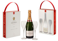Laurent Perrier Brut Champagne Twin Glass Pack.