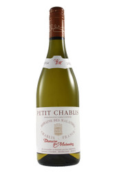 Pure and fresh Petit Chablis with white fruit nuances.
