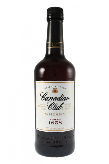 The original light and versatile blended whisky, Canadian Club Whiskey is the only Canadian whiskey blended before aging in white oak barrels. This allows the flavours of the rye, rye malt, barley malt and corn to merry, giving Canadian Club Whiskey its unique, smooth taste. Canadian Club Whiskey is ideal for any occasion and goes perfectly with your favourite mixer.