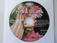 Akzentz UV Gel & Tips - Educational DVD # 1