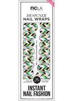 NCLA Nail Wraps - Retro Chevron Baby