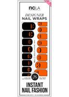 NCLA Nail Wraps-Jack O Lantern