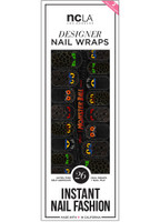 NCLA Nail Wraps-Monster Ball II