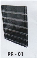 Clear Polish Rack Wall Mount - 60 piece