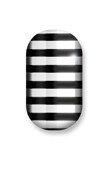 Black & Silver Stripes