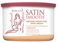 Satin Smooth Organic Honey w/Argan Wax