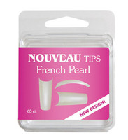 Nouveau Tips French Pearl 65 Ct. Refill
