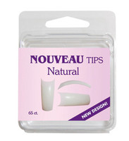 Nouveau Tips Natural 65 Ct. Refill