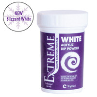 Extreme Blizzard White Dip Powder