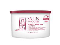 Satin Smooth Scarlett Berry Wax with Acai