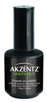 Akzentz 'Lights Out' - Glow In the Dark Top Coat