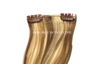 """7 Piece Clip In Extensions 18"""" - High Lift Blonde"""