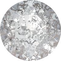 Chaton Silver Patina  ss29 - 10pk