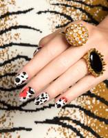 NCLA Nail Wraps - Poppy En Dot Dalmatian
