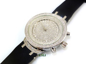 """White tone """"Fully Loaded Royalty"""" watch (Clear-Coated)"""