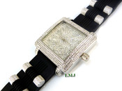 """White tone """"Fully Loaded Franck"""" watch (Clear-Coated)"""