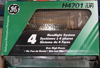 GE 4 headlight system h4701