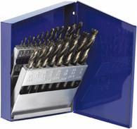 Irwin Turbomax Fractional Metal Index Drill Bit Set, 15-Piece