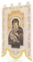 Our Lady of Perpetual Help Processional Banner