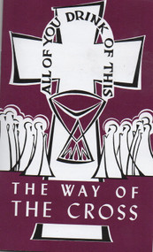 The Way of The Cross Pamphlet is adapted from an old Latin compilation of Liturgical and Biblical texts.