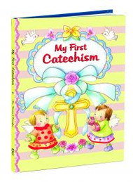 Young believers will treasure MY FIRST CATECHISM because it teaches them important basics of the Faith--the Sacraments, the Ten Commandments, and the Beatitudes. Padded Cover. Illustrated. 48 pages