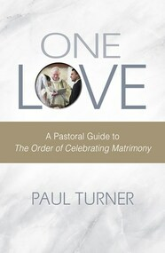 The publication of the second edition of The Order of Celebrating Matrimony, provides new liturgical and pastoral opportunities for presiders and parishes. In One Love, Fr. Paul Turner-one of the most reliable experts in Catholic liturgy today-provides sound guidance and instruction on the rite. Among the many important and practical topics he covers are:  uses for the expanded introduction the engagement ceremony the location for the wedding the revised words for the questions, consent, and reception of consent the customs of the arras, the lazo, and the veil other wedding customs