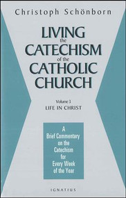 Volume 3 (of 4 Volumes), Life in Christ. Cardinal Christoph Schönborn, the editor of the monumental Catechism of the Catholic Church, a worldwide best seller, provides a brief and profound commentary on the third part of the Catechism, Life in Christ. Schönborn gives an incisive, detailed analysis of living the Christian life, providing a specific meditation for each week of the year on how to better live the Catholic faith as presented in the Catechism. Through these 52 meditations, Schönborn's hope is for the reader to not just have a better grasp of the Catholic doctrine and belief, but especially to grow in a greater love of and devotion to the person of Jesus Christ. Also available are Volumes 1,2, & 4.