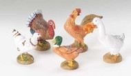 "5 Piece Fontanini 5"" scale Bethlehem Birds. Made of unbreakable polymer"