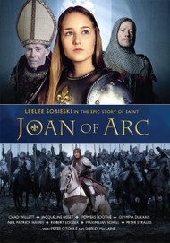 """She died at 19, and 500 years later her legend and legacy is stronger than ever. Leelee Sobieski shines as the legendary warrior and saint, Joan of Arc, who, at seventeen, led one of the greatest military campaigns for freedom the world has ever witnessed. Supported by an all-star cast, with glorious cinematography, music score and stunning scenery, Joan of Arc is a riveting epic film of faith, inspiration, triumph and tears. Born to be a peasant French family, Joan hears the voices of saints calling out to her to unite her besieged nation..Gaining an audience with the young French king, Joan convinces him that God is calling her to command an army into battle to save France. It becomes an incredible adventure that leads to thrilling victories and heartbreaking betrayals – as Joan of Arc defies all odds and marches into history. Also starring Peter O'Toole, Robert Loggia, Jacqueline Bisset, Peter Strauss, Maximillian Schell, Olympia Dukakis, Powers Boothe,Shirley MacLaine, Neil Patrick Harris. Special Features include: """"Making Of"""" film segment; Detailed Cast & Crew Information; Lengthy Production Notes; 16-page Collector's Booklet"""