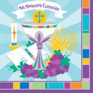 16 Primeras servilletas de la comunión santa