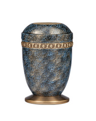Copper and Brass Urn-115