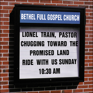 Church Sign-Century