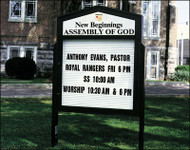 Church Sign-Traditional