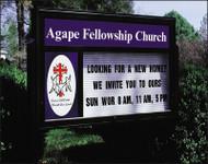 Church Sign-Emblem