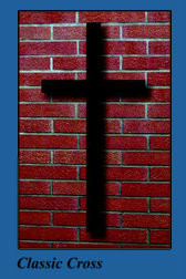 Wall Mounting Cross-Classic