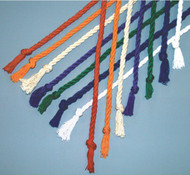 "77"" Cotton Twist Cinctures available in all liturgical colors: Natural (Wheat), Blue, Green, Gold, Red, White & Purple"