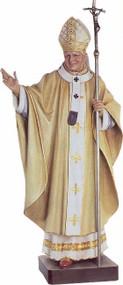 Saint John Paul II Statue in Various Sizes